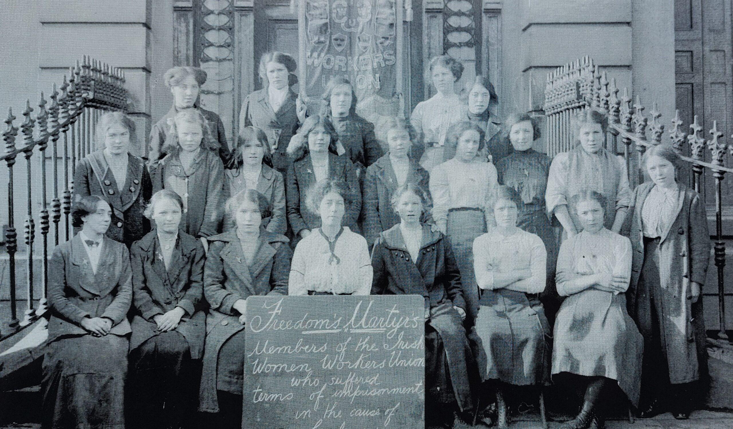 Smashing, striking and rising: some commemorated women
